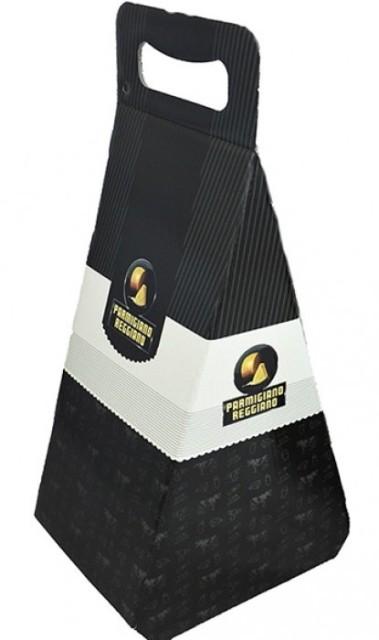 Confezione regalo per punta di Parmigiano Reggiano da 1 Kg