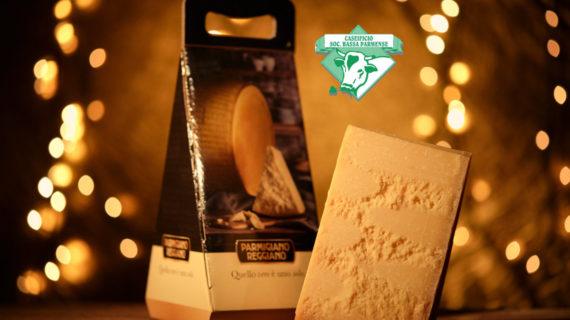 Confezioni regalo Natale con Parmigiano Reggiano